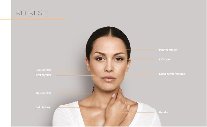Restylane Skinbooster indikasjoner